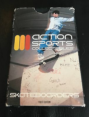 Rare Action Sports Collectables Skateboarders First Edition cards sealed inside