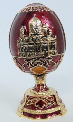 Replica Faberge egg featuring the Old Depository Building, FE_002