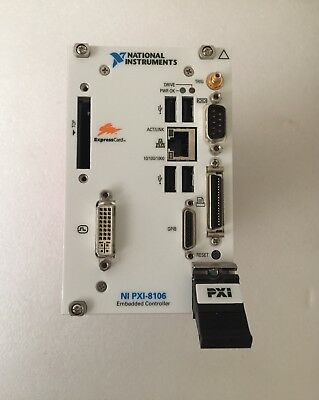 National Instruments NI PXI-8106 Embedded Controller