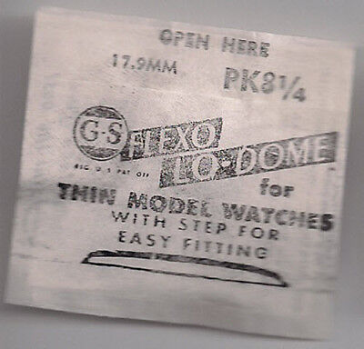 G-S PK 8 1/4 - 17.9MM - Flexo Lo-Dome for Thin Model Watches