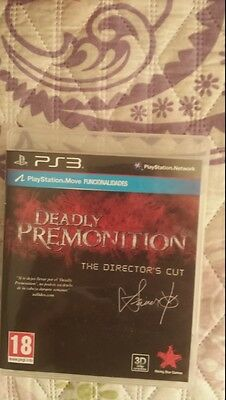 Deadly Premonition Directors Cut PS3 Pal España