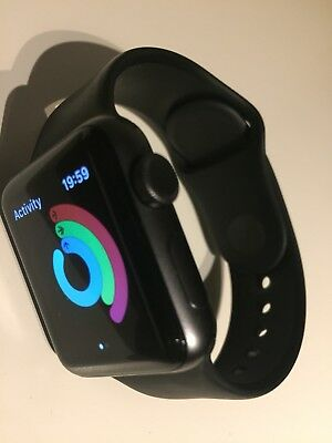 Apple Watch Series 3 38mm Space Gray Aluminium. Gps. 1 Month Old.