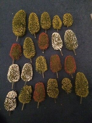 Job Lot Of Blossoming Trees For OO Gauge Model Railways