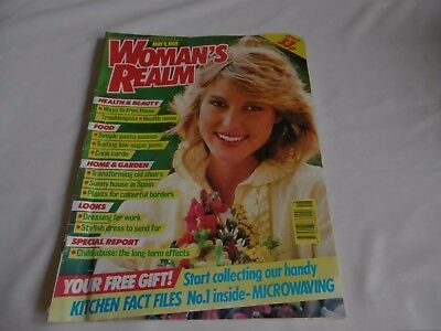 Woman's Realm Magazine May 9th 1989
