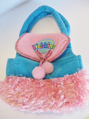 Webkinz Carrier Purse by Ganz with Fringe EUC Smokefree Home