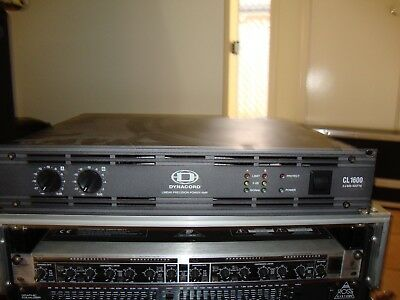 Dynacord CL 1600 Linear Precision Power Amp