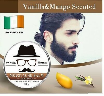 Natural Beard Oil Conditioner Beard Balm for Beard Growth and Organic Moustache