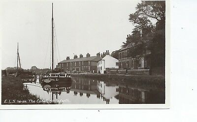 Real photo postcard of the Canal at Stainforth Yorkshire in very good condition