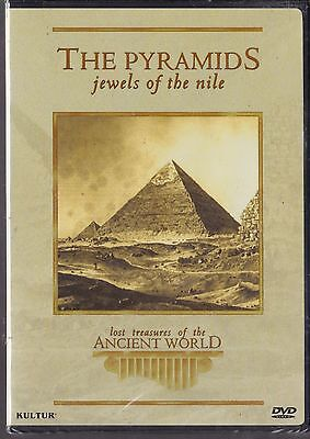 THE PYRAMIDS jewels of the nile EGYPT pharaohs tombs COLOR 50min NEW DVD