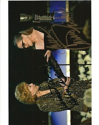 Debbie Reynolds Carrie Fisher Signed Photo + Carrie Fisher Signed Photo
