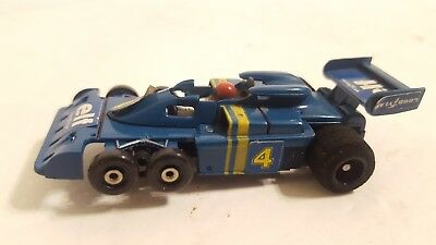 Aurora AFX 6 Wheel Tyrrell Elf G Plus HO Slot Car