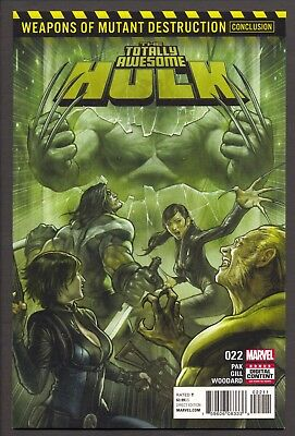 Totally Awesome Hulk #22 (2017)~1st Print~1st Weapon H appearance~NM