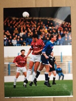 Colour Action Photo Manchester City V Stockport County ?