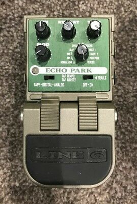 Line 6 Echo Park Delay Pedal Boxed! MINTY