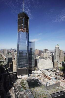 ONE WORLD TRADE CENTER GLOSSY POSTER PICTURE PHOTO BANNER new york wtc usa 3141