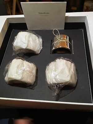Vera Wang Love Knots Napkin Rings - Set of 4