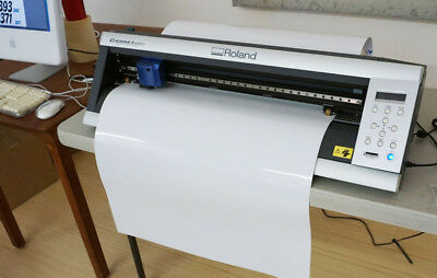 ROLAND GX-24 CAMM-1 SERVO Sign Vinyl Cutter Plotter - Used - Great Condition