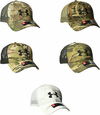 the latest 4208c 773d3 Under Armour Mens Camo Mesh Cap 2.0, 5 Colors
