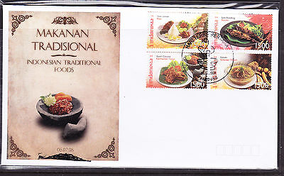 Indonesia 2008 Traditional Foods First Day Cover
