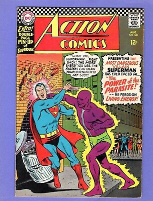 Action Comics #340 -  1st Appearance of the Parasite! -- -- VG cond.