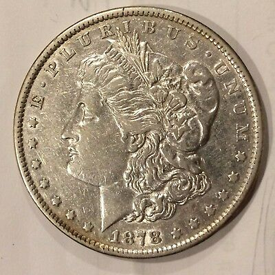 1878 7TF Morgan Silver Dollar ++ XF Details ++ see pics and grade yourself