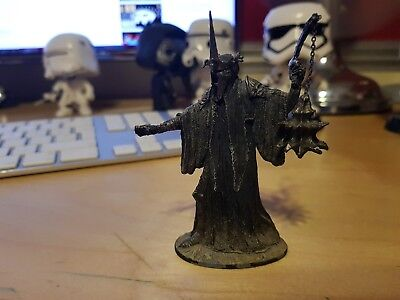 Lord of the Rings LOTR Witch King Gothmog Metal Figure NLP