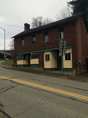Huge Commercial property-former restaurant+2 residential units in Brownsville,PA