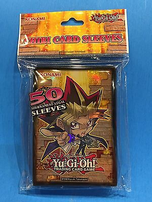 Yu-Gi-Oh (CHIBI Card Sleeve) 50 Sleeves Deck Protectors Official Konami Product