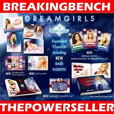 SARA UNDERWOOD 2017 Benchwarmer DREAMGIRLS 8-BOX CASE BREAK #M699