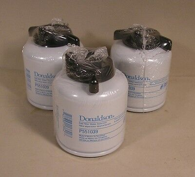 Qty 3 Bobcat Diesel Fuel Filter By Donaldson – Exactly Same As O.e.m.  6667352
