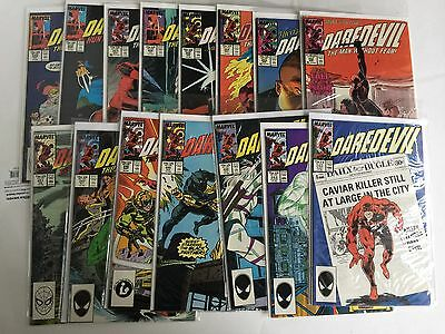 Daredevil Lot 20--Issues 242-247; 251-259