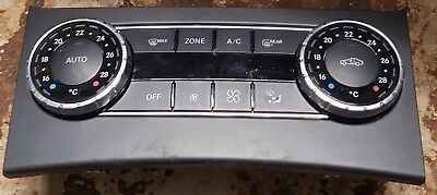 Mercedes C Class W204 Climate Heater Control Panel A2049006608