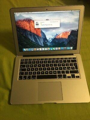 "A32 Apple Macbook Air 13"" 2015 I5 1.6 Ghz 4gb 256Gb Ssd Laptop Portable Notebook"