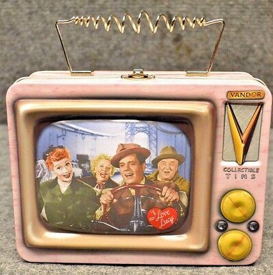 "*~Retro Collectible~~I LOVE LUCY~~Lunchbox~~ ""CALIFORNIA, HERE WE COME.""EP:110~*"
