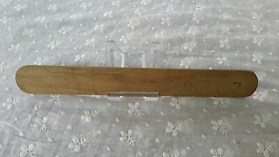 Antique Wood Sewing Tool by Faudels, London. Treen.