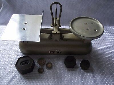 Vintage scales and metric weights