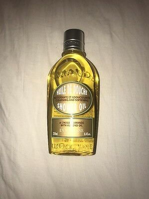 Brand New L'Occitane Cleansing Shower Oil With Almond Oil 250ml
