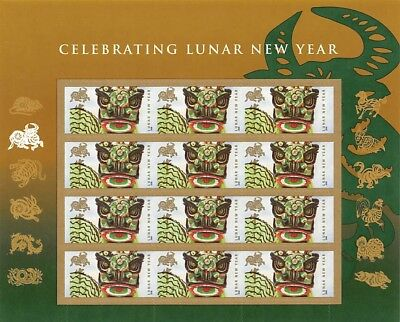 Year Of Ox#4375 Forever Stamp Pane?S001418