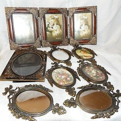Lot Of 8 Vintage & Victorian Style Picture Frames