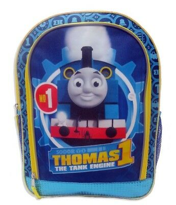 Thomas & Friends the Tank Blue Engine Train 16 inch Backpack School Bag