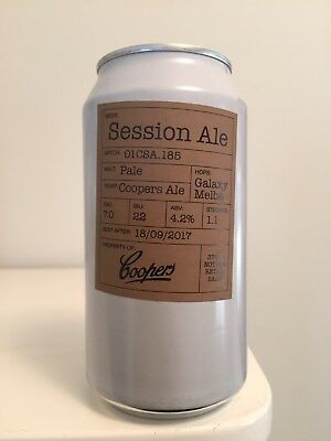 Coopers Session Ale Beer Can - Rare And Collectable Empty Can - Coopers Brewery