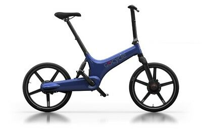 Gocycle G3 Blue Folding Portable Electric Bicycle