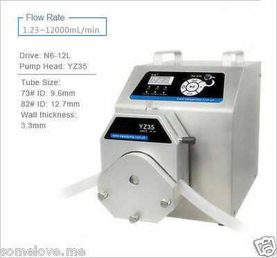 Peristaltic Pump Industrial Standard Type N6-12L YZ35 Ship via DHL