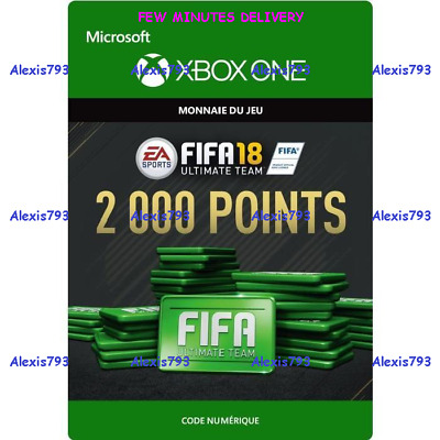 FIFA 18 ULTIMATE TEAM - 2000 FUT POINTS PACK ( 4 x 500 ) - XBOX ONE - DIGITAL