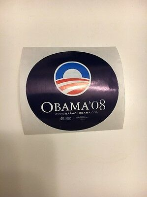 Barack Obama Campaign Sticker 2008