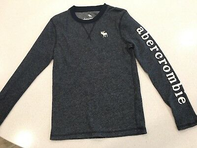 NWOT Abercrombie Kids Sweater Size 7/8 navy
