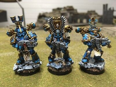 Warhammer 40k chaos 10x Thousand sons Rubric marines Tzeentch pro painted