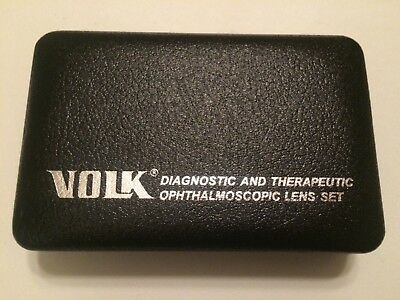 VOLK Diagnostic and Therapeutic Ophthalmoscopic Lens Set (NEW)