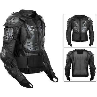 Motorcycle Full Body Armor Jacket Spine Chest Protection Gear S -XXXL