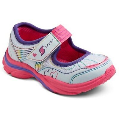 NEW S SPORT by Skechers PRISM Mary Jane Sport Shoes Toddler Girls 11 or 12